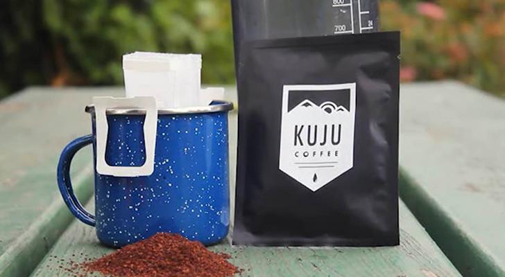 Kuju PourOver Promises Quick Camp Coffee