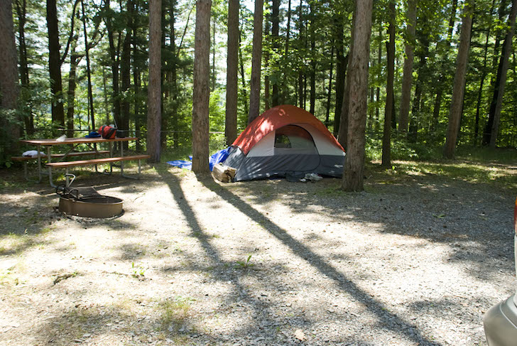 5 campgrounds rated most popular in all of new york state - Letchworth state park swimming pool ...
