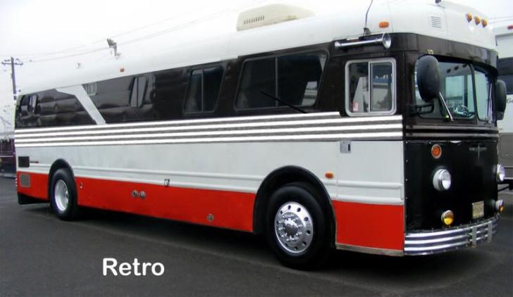 Vintage Bus Paint Design