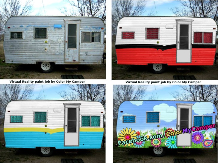 Graphic Designer Helps Glampers Create Their Dream Rvs