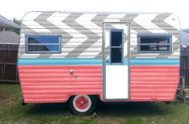 After photo of a virtual painted rv