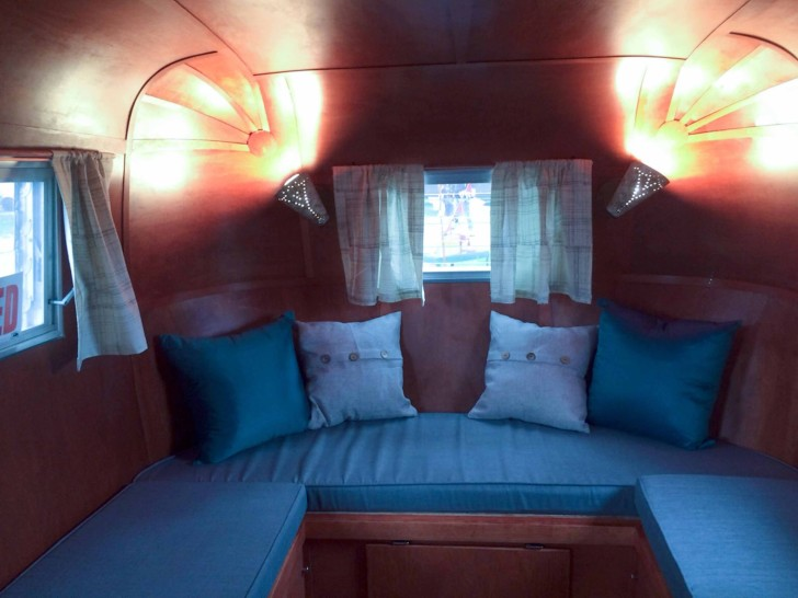 Relic Trailers feature vintage inspired interiors