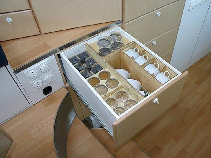 cool kitchen drawer