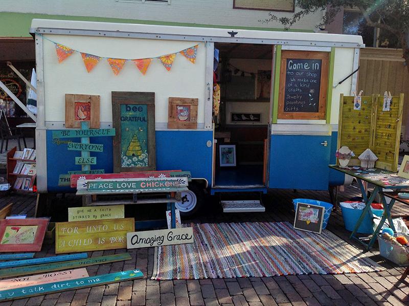 BarbedWireBrowns-craft-camper-display