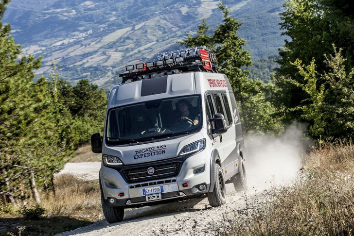 Ram Promaster 4X4 >> Fiat's 4x4 Camper Van Ready For Off-Roading in Europe