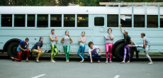 40-Foot 1995 Carpenter School Bus Rebuilt By 8 College Students