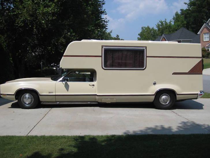Oldsmobile Toronado camper