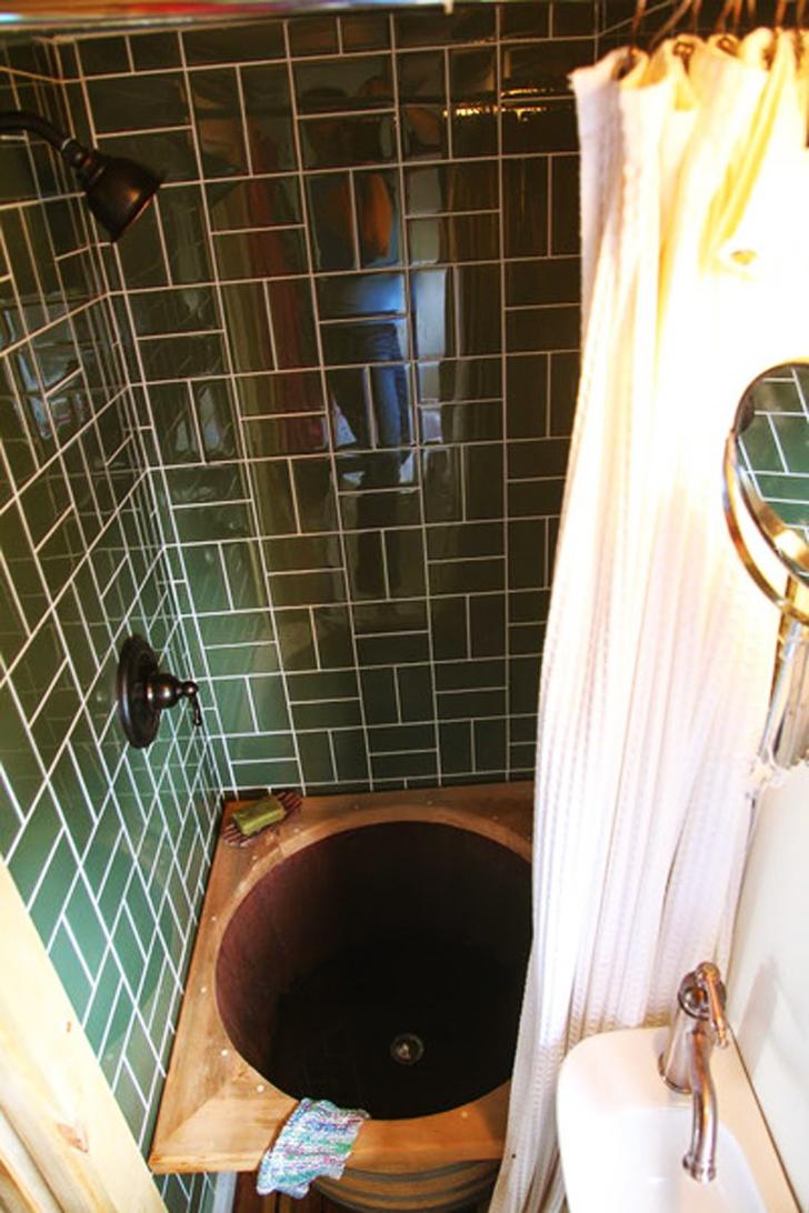 tumbleweed barrel shower