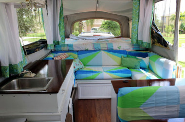 5 Tips For Making Over A Popup Trailer – Or Any RV