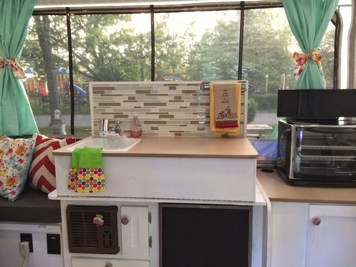 cool backsplash project