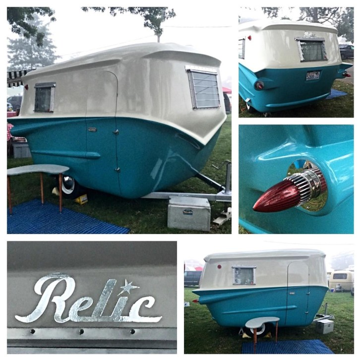 Relic Trailers newly built vintage designed trailers