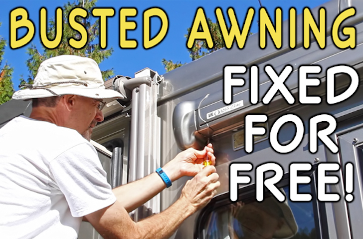 RV Door Awning Dead? Save Up To $1,000 With This Tip!
