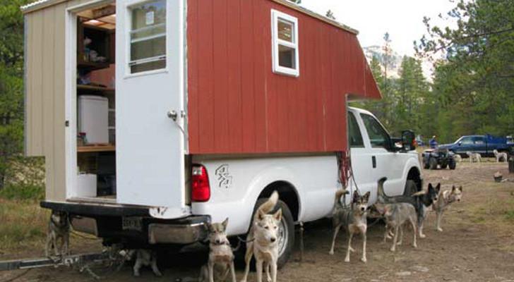 DIY musher dog RV