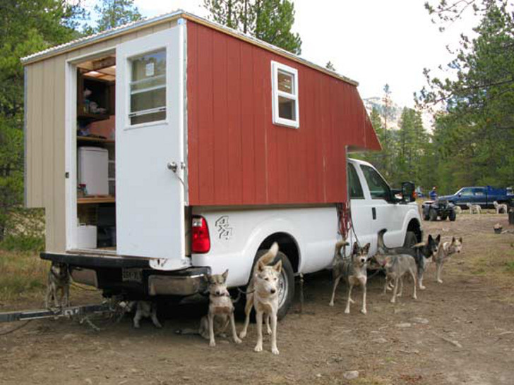DIY musher dog RVs