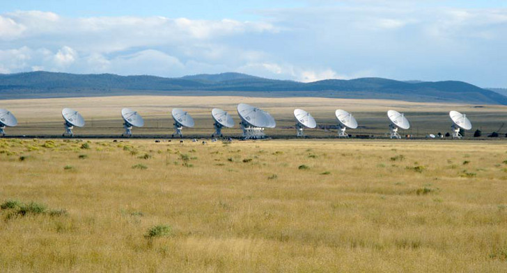Very Large Array Roadside Attraction