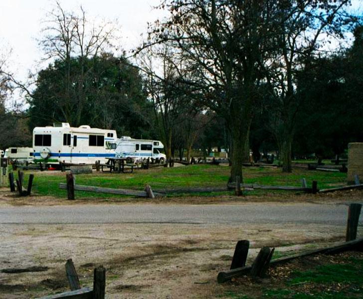 Lake Morena campground