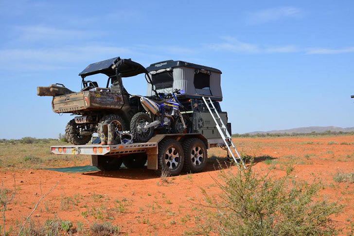 off-road pop-up camper