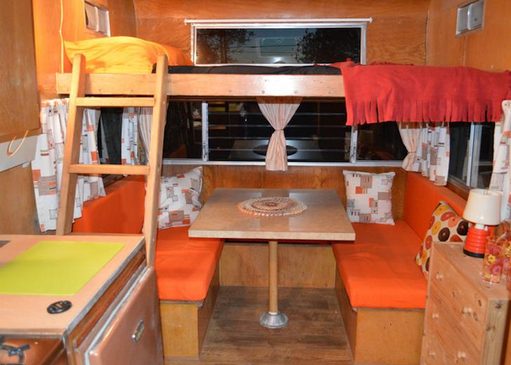Dining area in Shasta