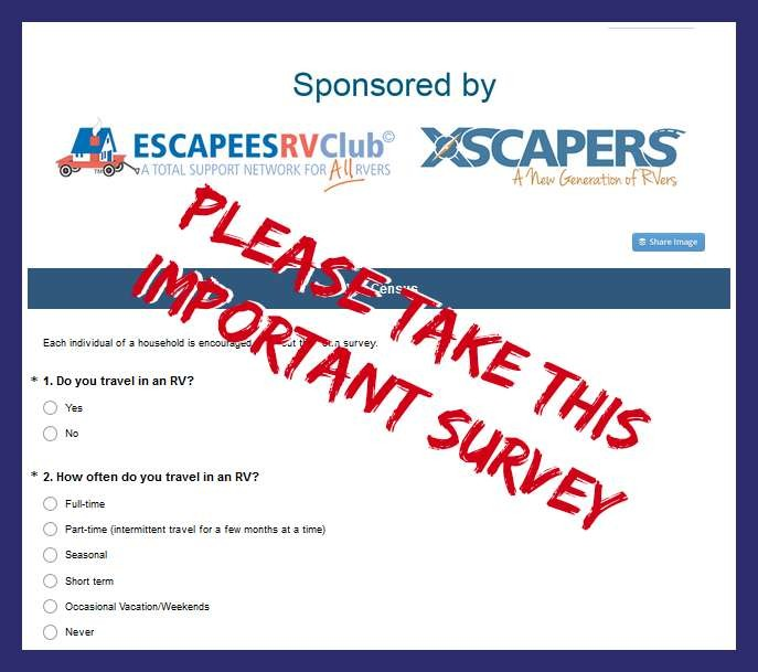RVer census survey