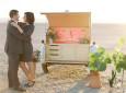 Custom Teardrop Trailer Plays Witness To These Stylish Vegas Weddings
