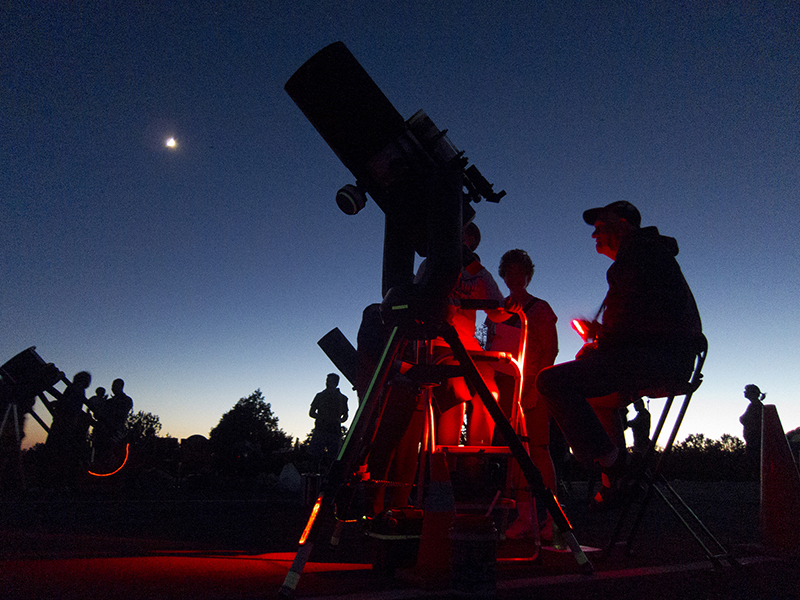 GrandCanyon-stars-telescope-DIYRV
