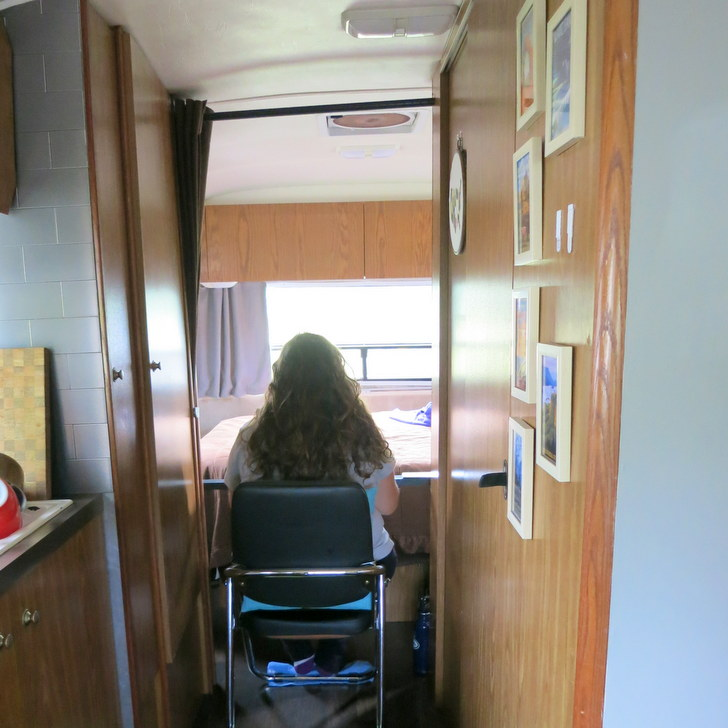 You Could Make This Simple Diy Rv Desk For Under 100