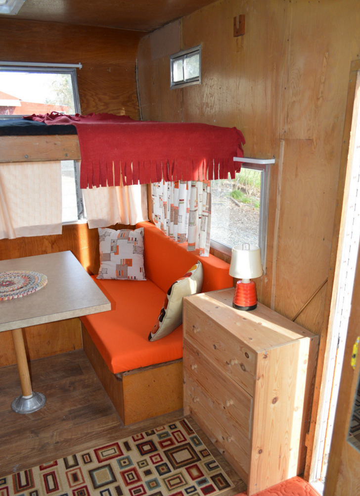 Mercedes Benz Camper >> This 1962 Shasta Astrodome Features A Cab-Over Bunk