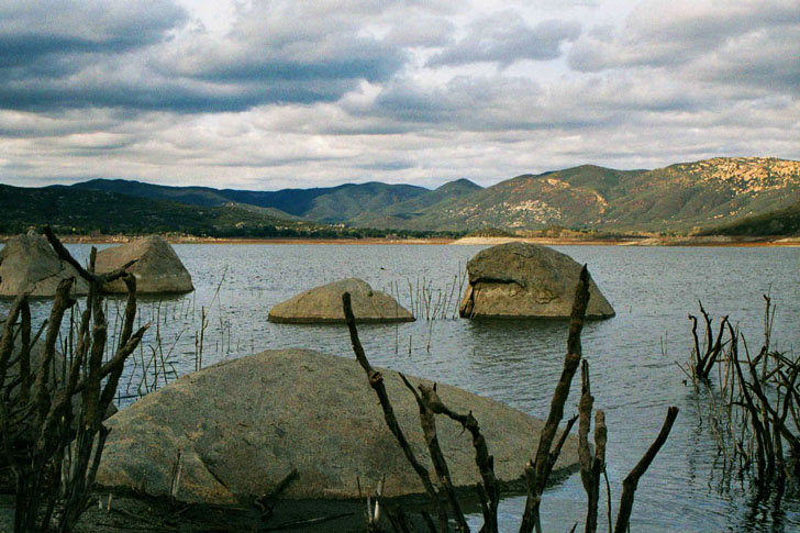 Lake Morena Laguna Mountains