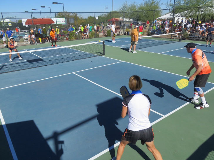 RVers love pickleball