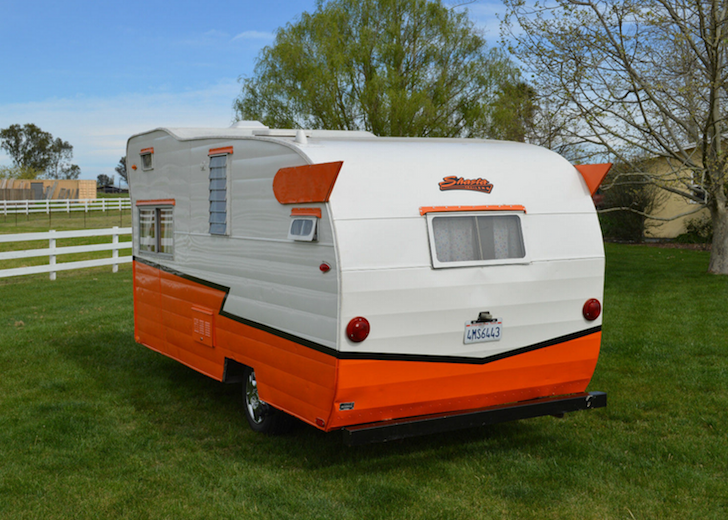 This 1962 Shasta Astrodome Features A Cab-Over Bunk
