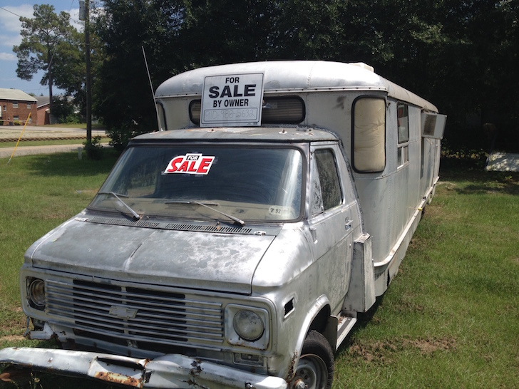 Vintage Pickup Truck For Sale >> Chopped Up Spartan Travel Trailer Makes A Mighty Motorhome