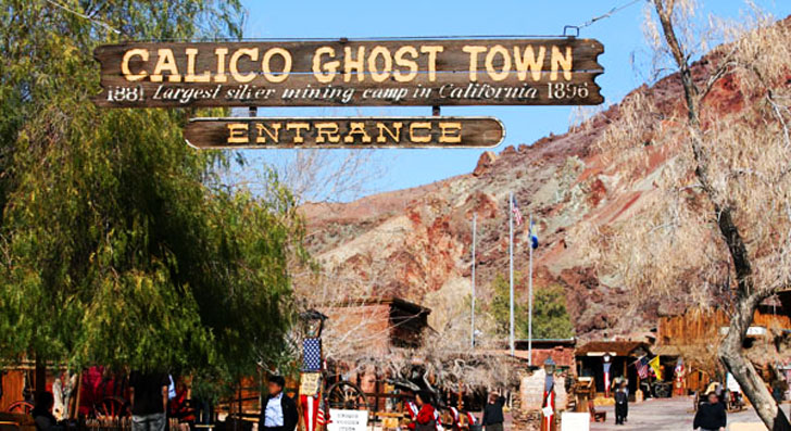 ghost town entrance