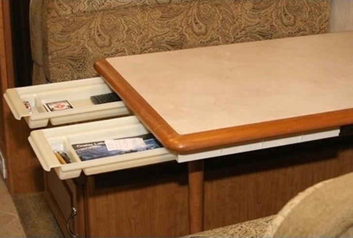 under tabe drawer