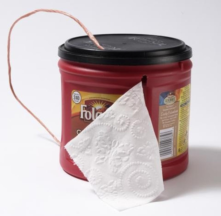 coffee container tp holder