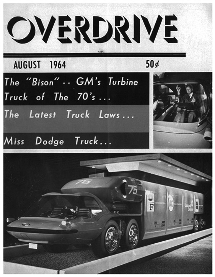 cover of overdrive magazine