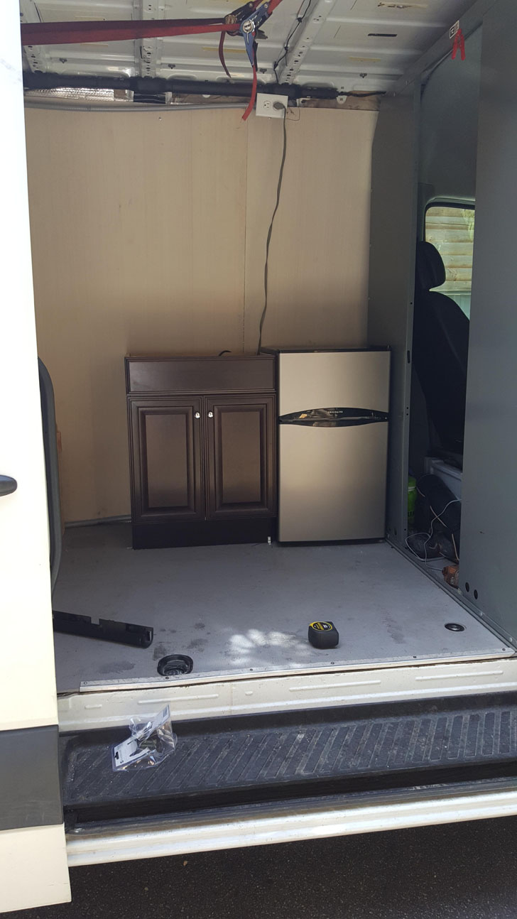 cabinet fridge