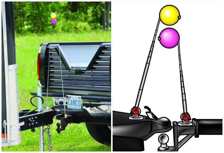 trailer alignment kit magnet hitch line up//Trailer Hook-Up Guide for Connecting Hitch with The Trailers