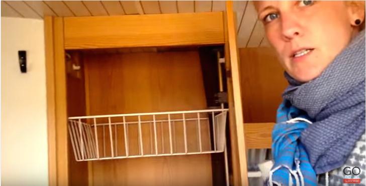 Camper cabinets