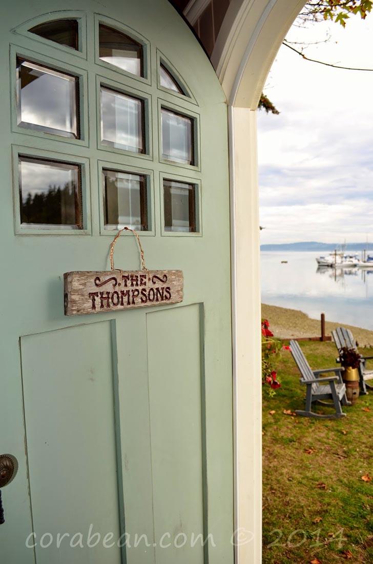 beautiful cottage front door
