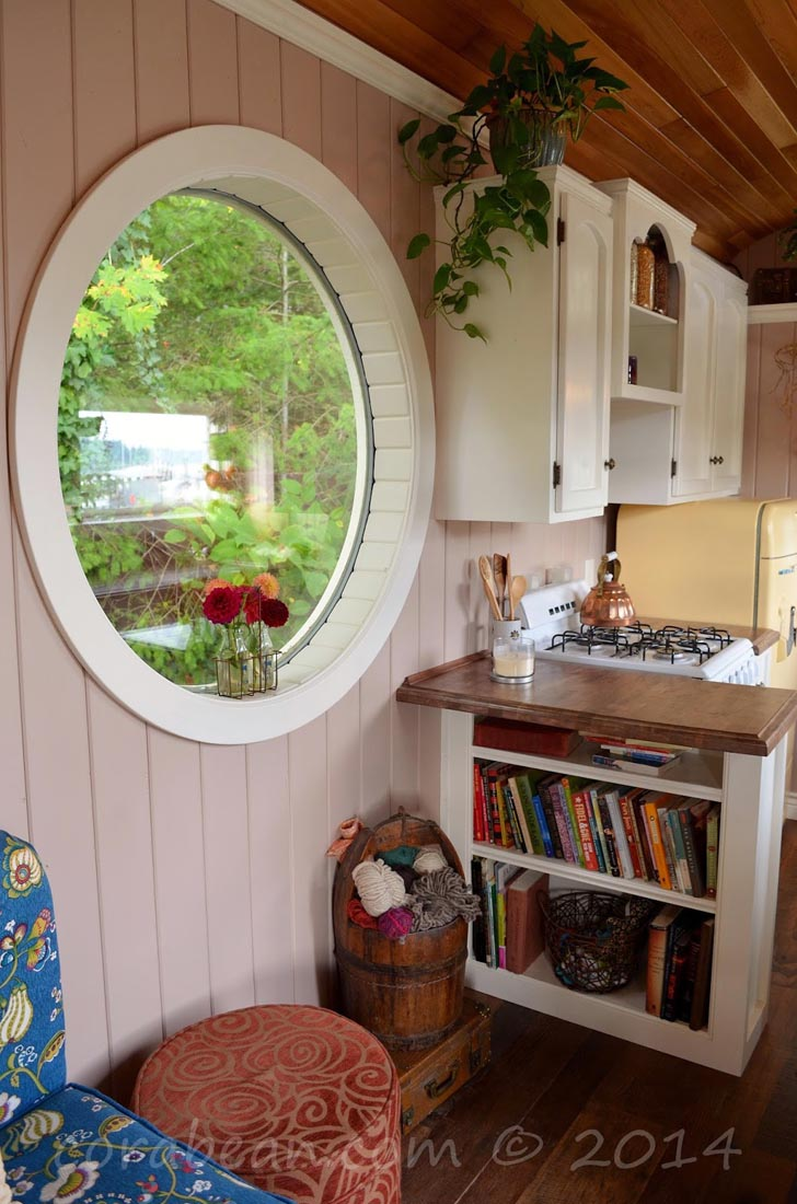 book nook round window