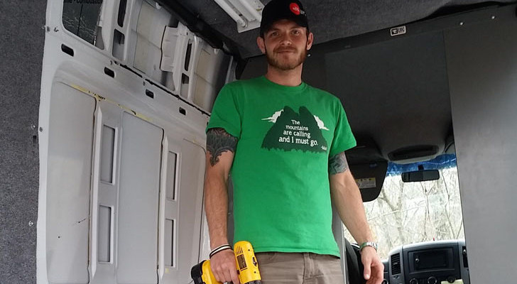 Quick And Dirty Sprinter RV Conversion For Not A Lot Of Money Or Time