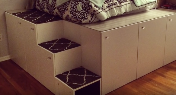 These Hidden Cubbies Could Double Your RV's Bedroom Storage Space