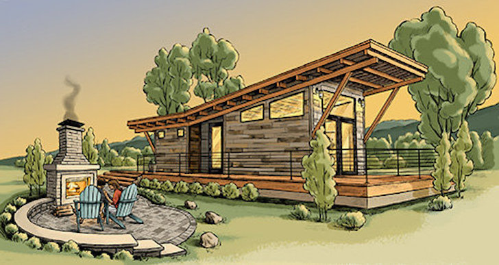 High end cabin