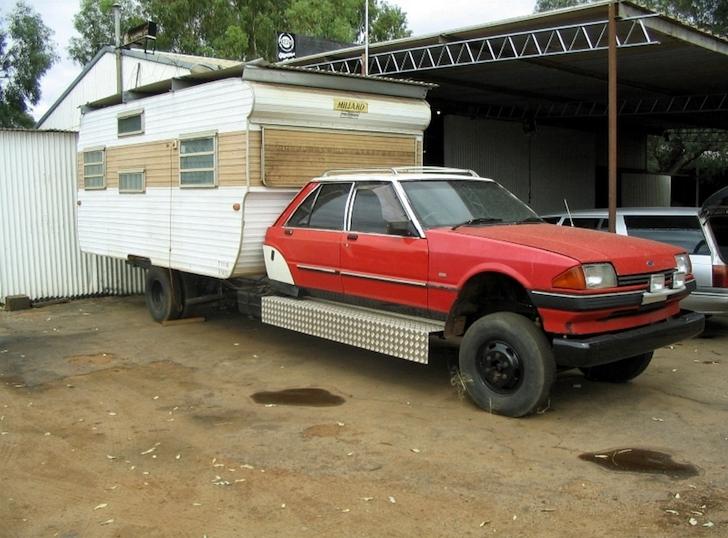 Homemade Millard truck camper