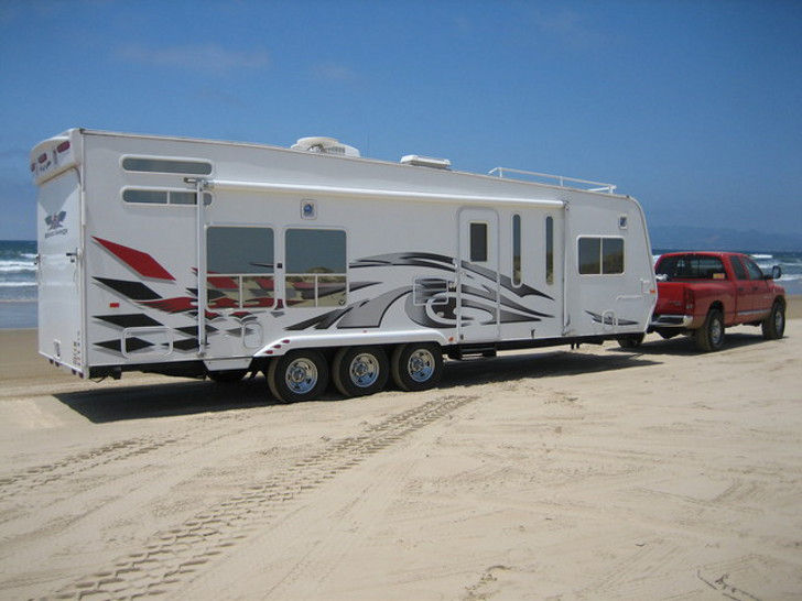 RV beach driving tips