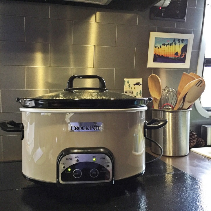 RV Crock-Pot Cooking
