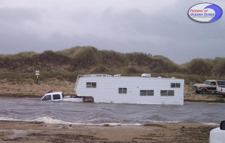 Rv Beach Driving Safety Tips Don T Get Stuck In The Sand