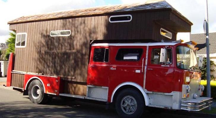 firetruck house