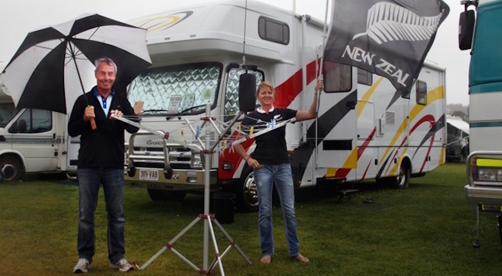 Couple Fly From New Zealand, Buy Motorhome In Queensland, To Attend Australian RV Rally