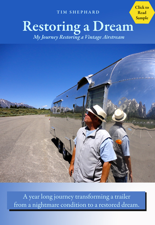 restoring a vintage Airstream